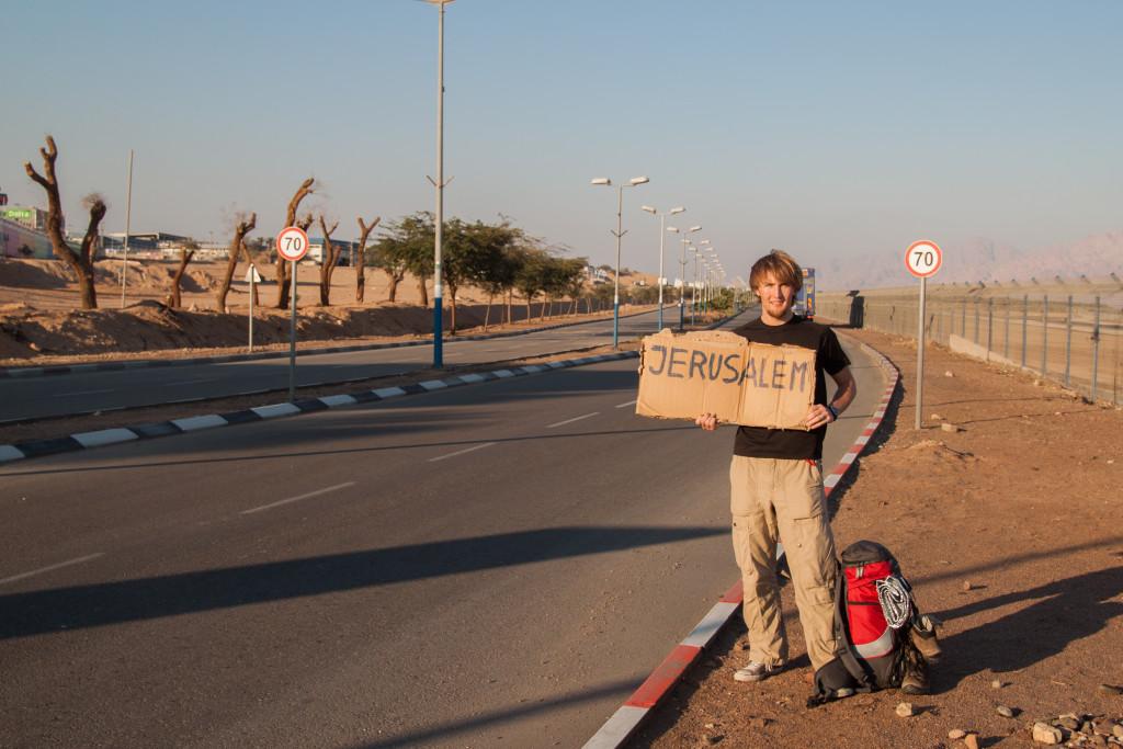 autostop w izraelu